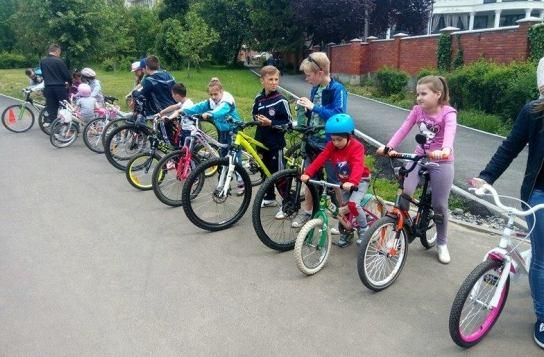 Велошкола для дітей в Мукачево ВІДЕО