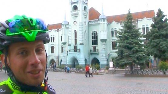 Зірка світового велоспорту Артем Топчанюк зізнався у любові до Мукачева ВІДЕО