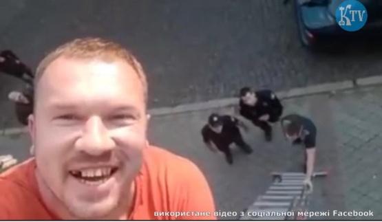 Муніціпальна міліція VS Креативний рекламщик. Відео від І-ї особи