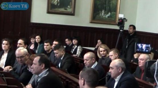 Сесія Мукачівської міської ради 21.01.2018