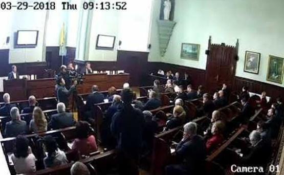 Сесія Мукачівської міської ради 29.03.2018