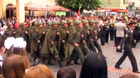 Як святкували 9 Травня в Мукачево