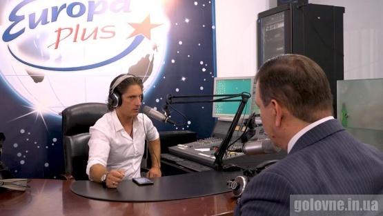 Ексклюзивне інтерв'ю Олексія Фазекоша в ефірі радіо Європа Плюс