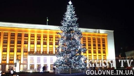 Програма Новорічно-різдвяних свят в Ужгороді